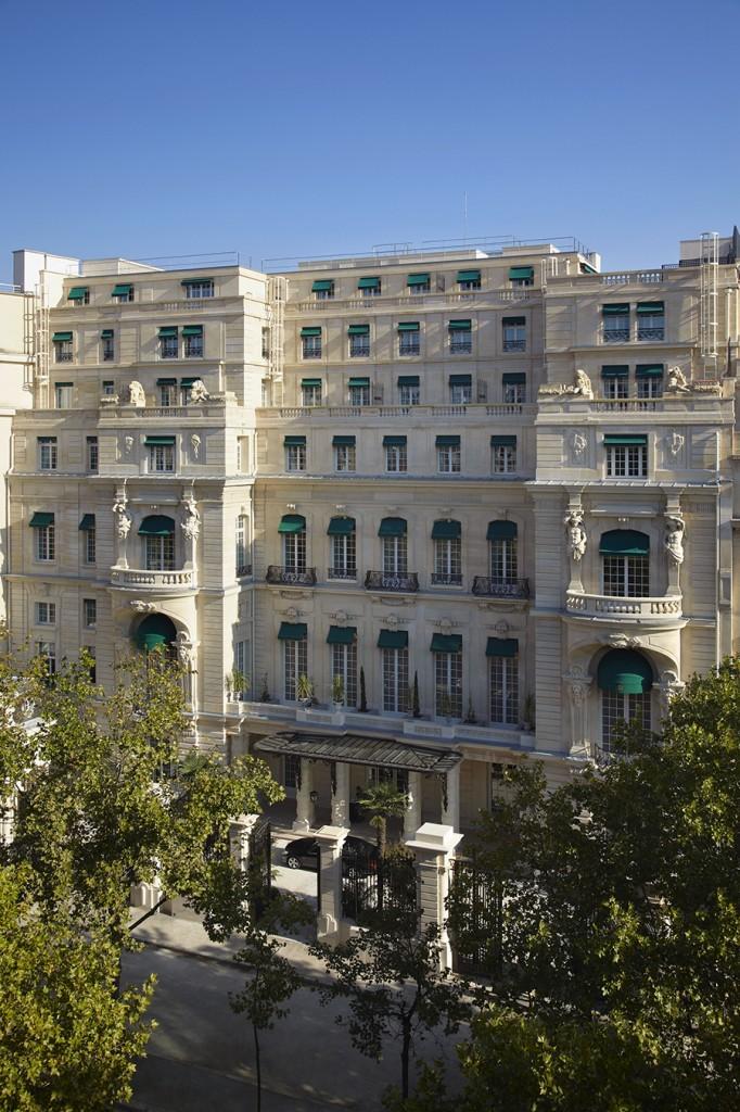 Facade - Shangri-La Hotel, Paris