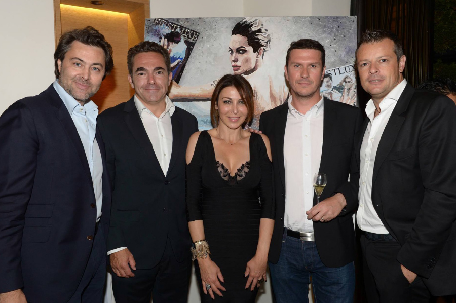 Bruno Haziza, Nicolas Le Tixerant, Eva Benhamou, Frank Leroux et Anthony Aiken