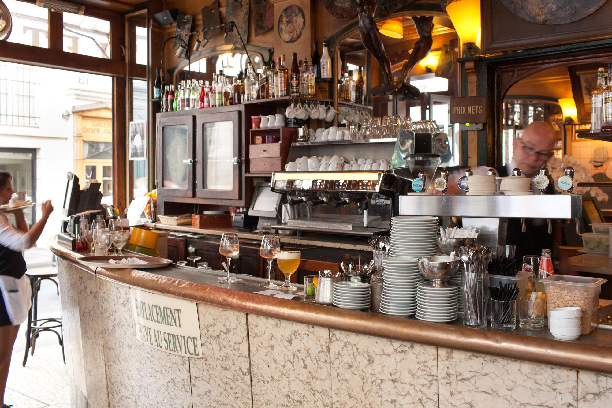 la palette : la plus belle terrasse de saint-germain des prés