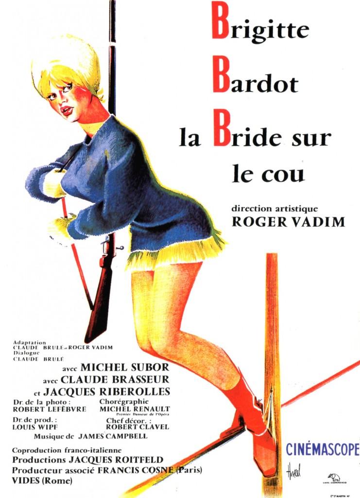 Affiche La bride sur le cou 120cm x 160cm