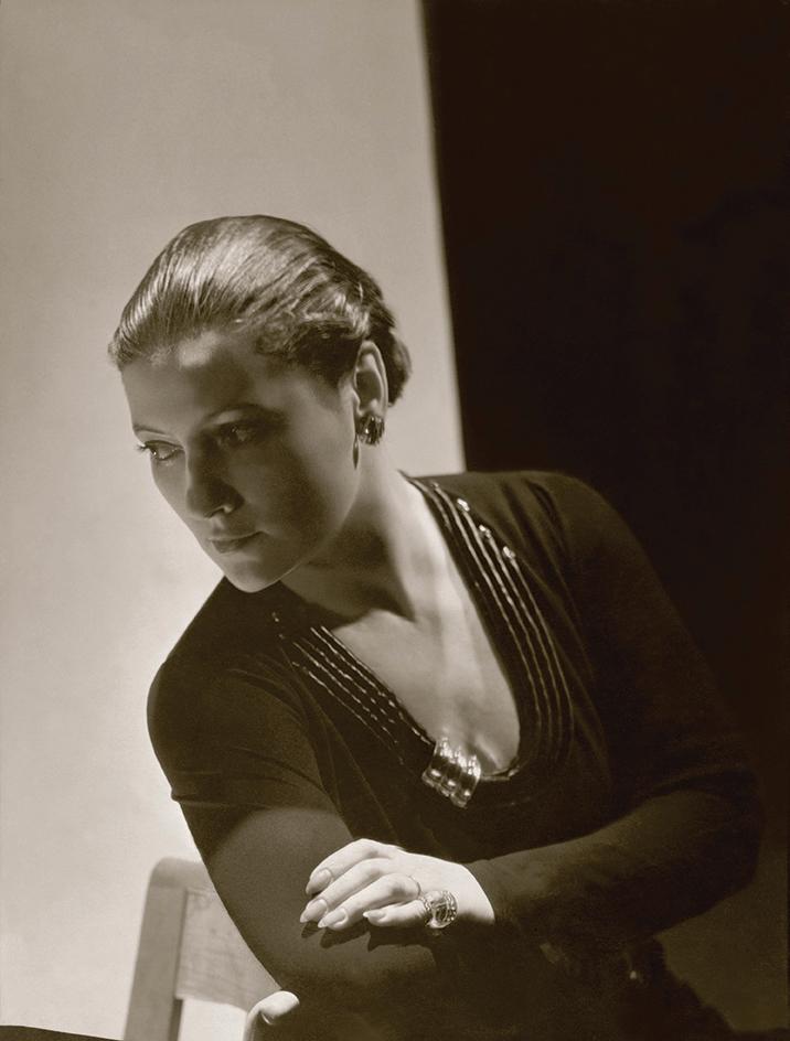 Jewelry Designer Suzanne Belperron in Neckline Clasp
