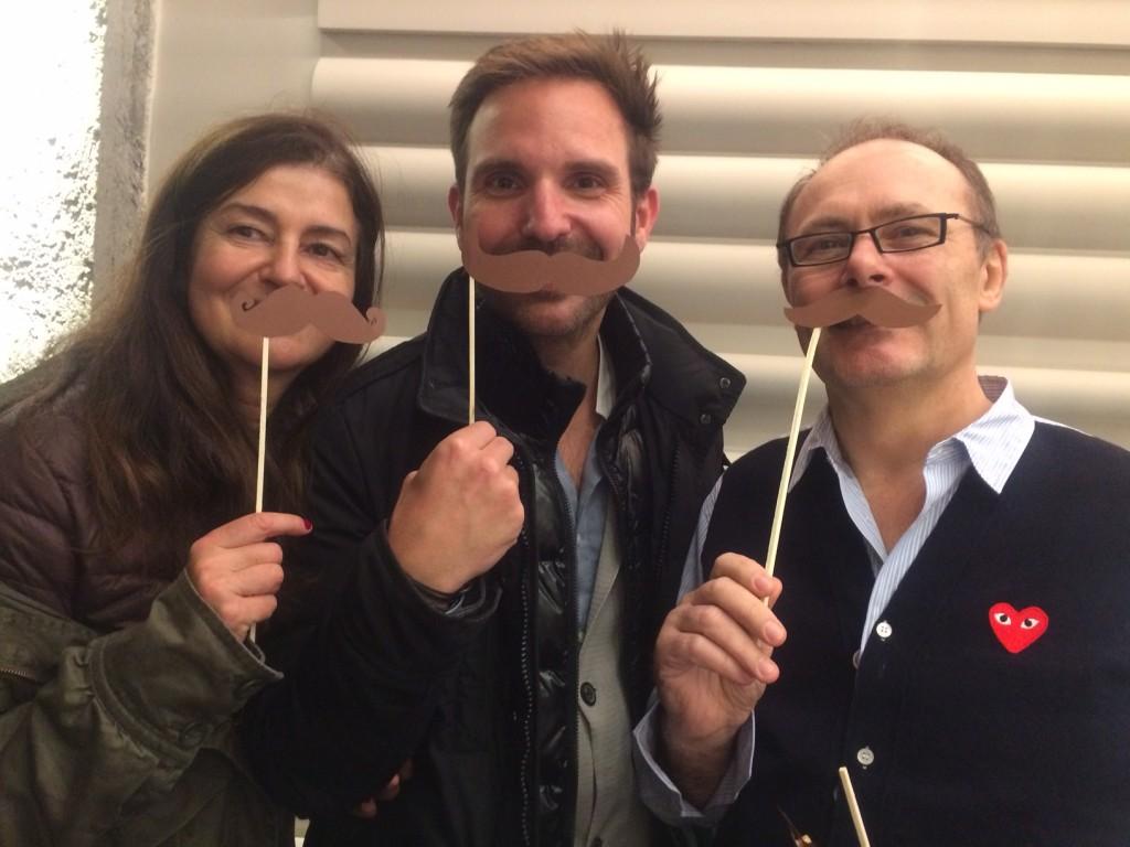 Jean-Paul Hévin, Christophe Michalak, et moi-même