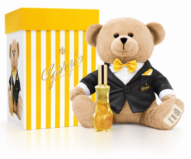 Teddy Bear + coffret + parfum