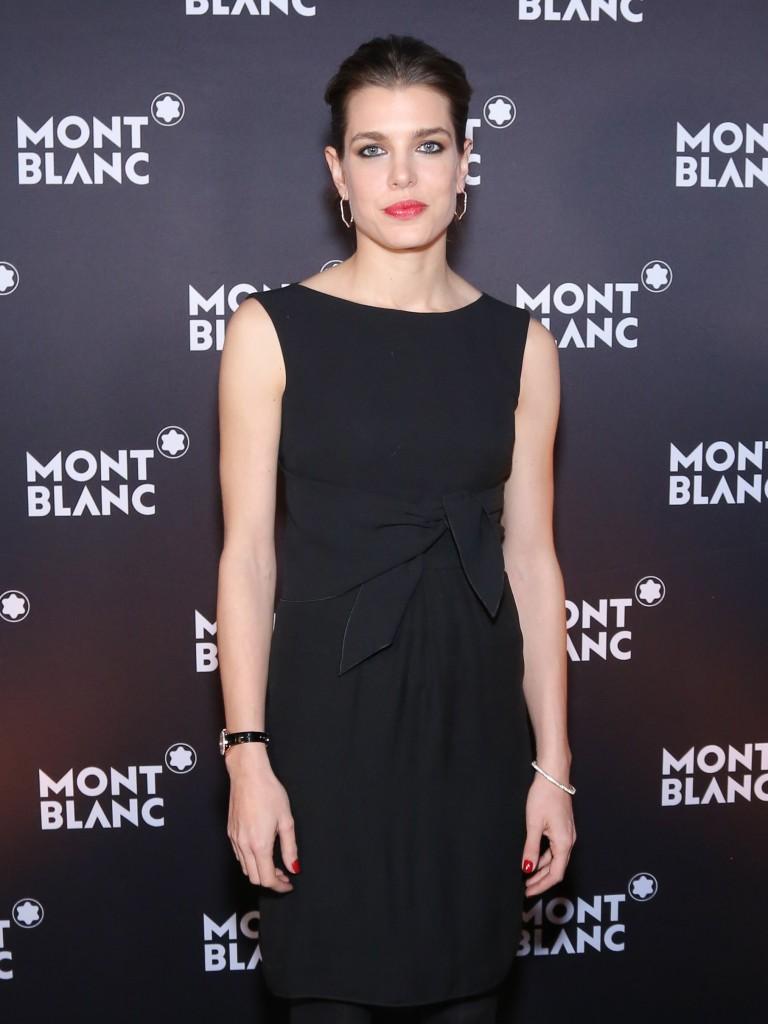 Charlotte Casiraghi, ambassadrice mondiale de Montblanc