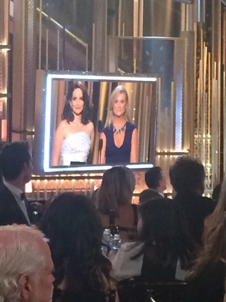 Tina Fey et Amy Poehler, actrices et maîtresses de cérémonie