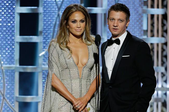 Jennifer Lopez et Jeremy Renner