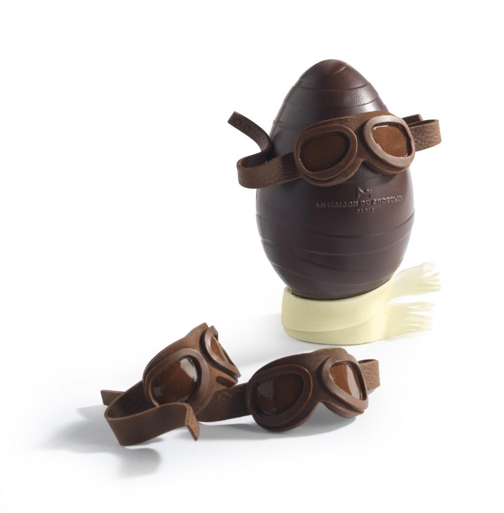 Oeuf aviateur La Maison du Chocolat C.Faccioli