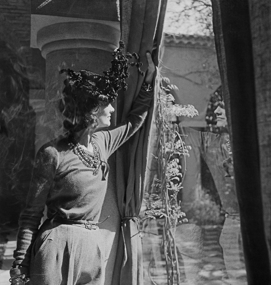 Gabrielle Chanel at La Pausa