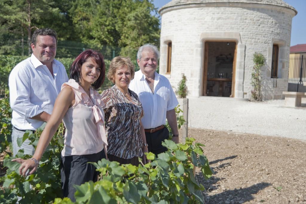 champage gremillet famille dans les vignes