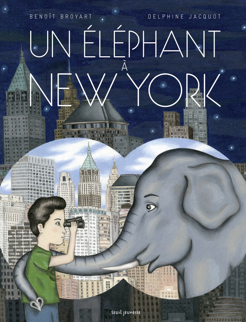 couv UN ELEPHANT A NEW YORK OK BAT060815.indd