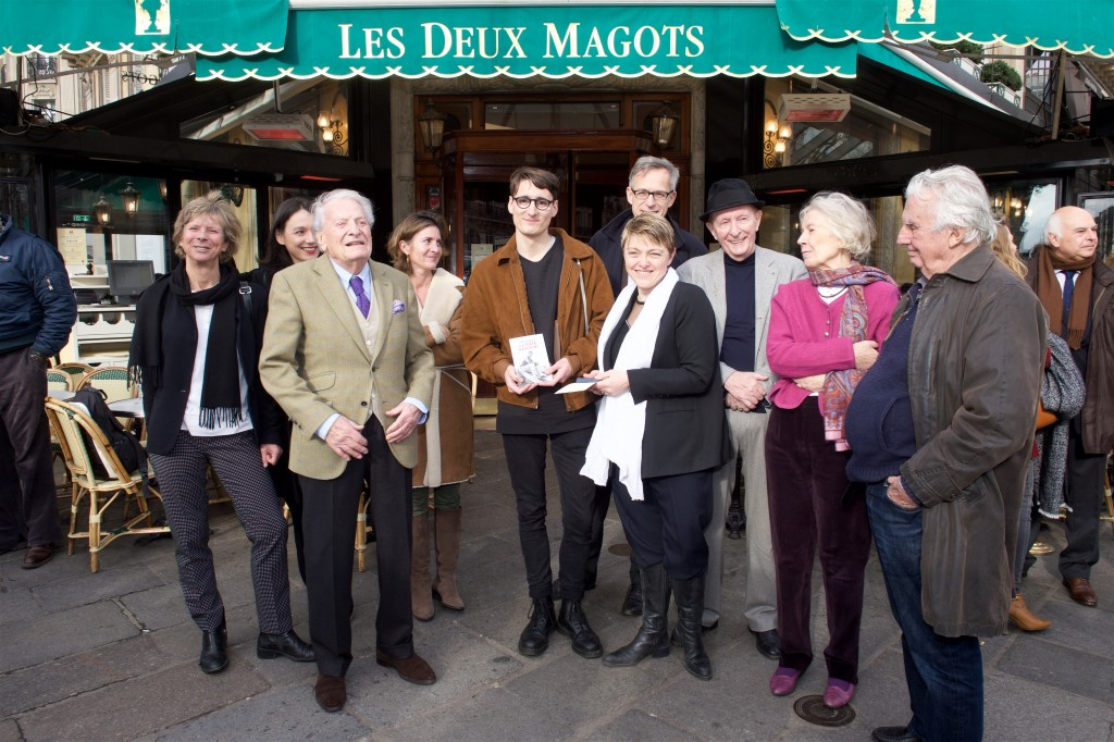 Les membres du Jury 2016 - Pierre Adrian, lauréat du Prix Littéraire des Deux Magots 2016  © Julio Piatti