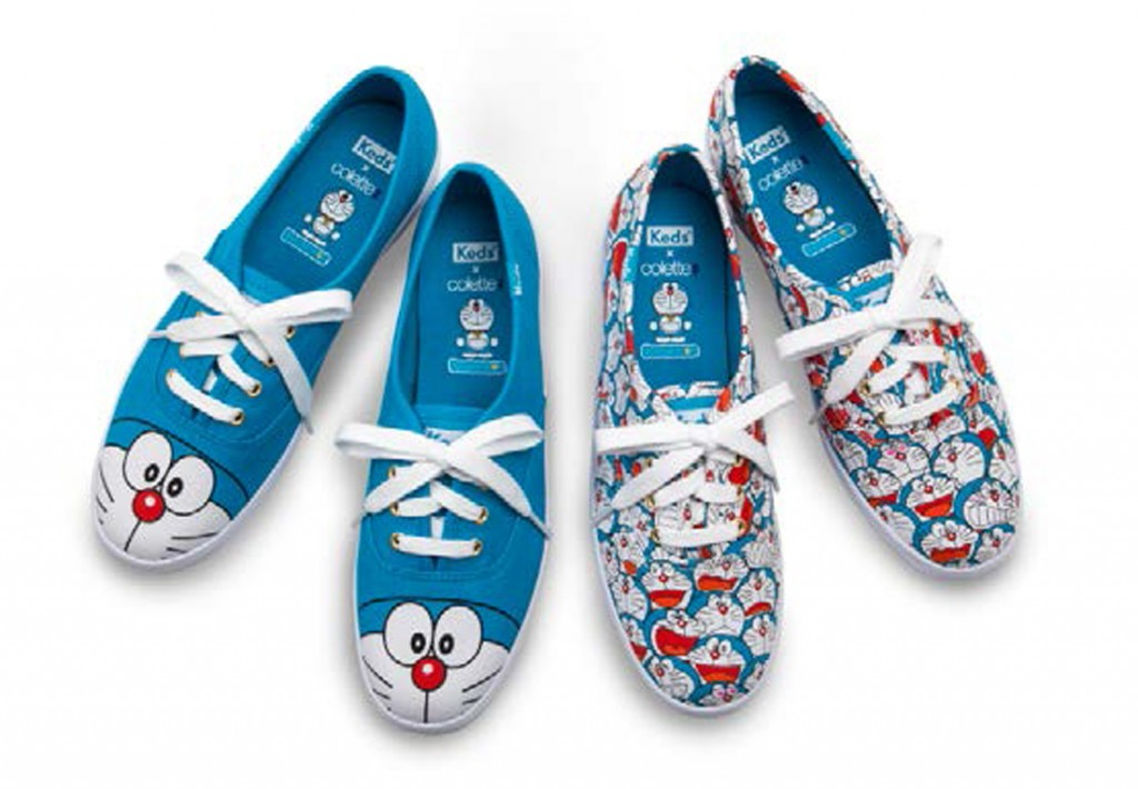 Keds x Colette x doraemon press Collab_Pics 2