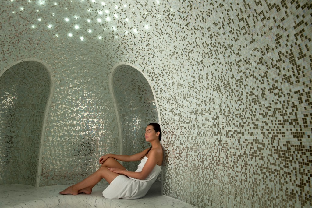 Hammam. Sisley Odeon Spa. Photo : Bernard Touillon.