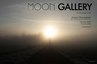 INVITATION Expo Moon Gallery - Espace Beaurepaire - 30 Mars 2015