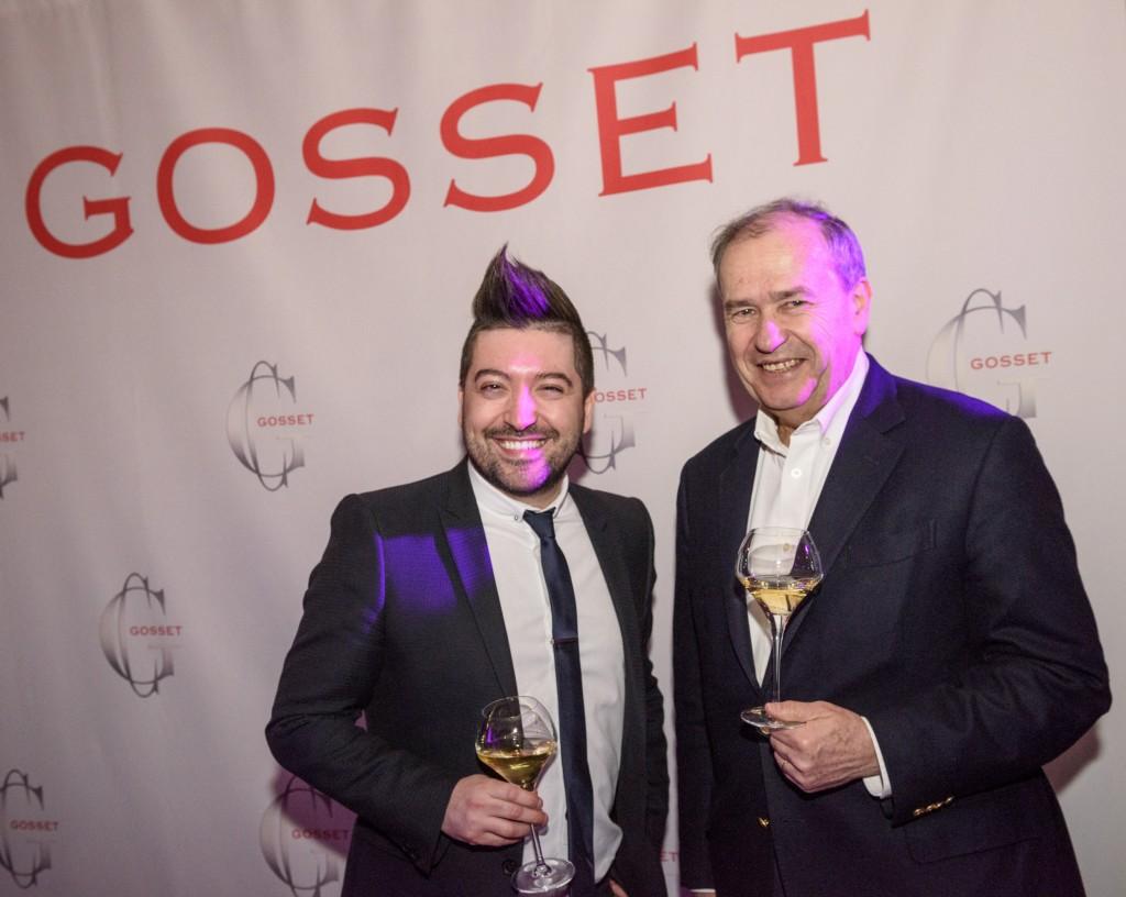 Le Président de Gosset, Jean-Pierre Cointreau