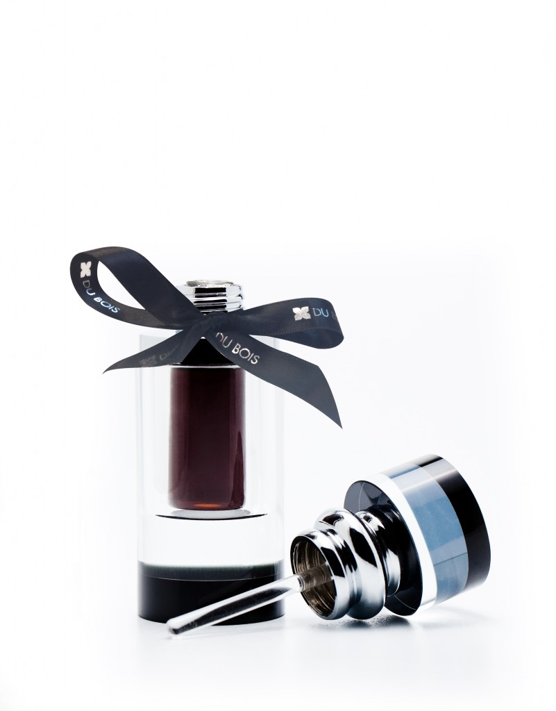 silver bottle ribbon