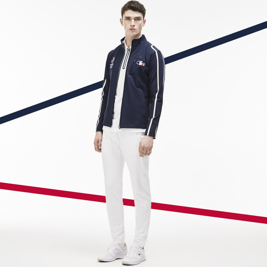 Lacoste France Olympique. Tenue Protocole