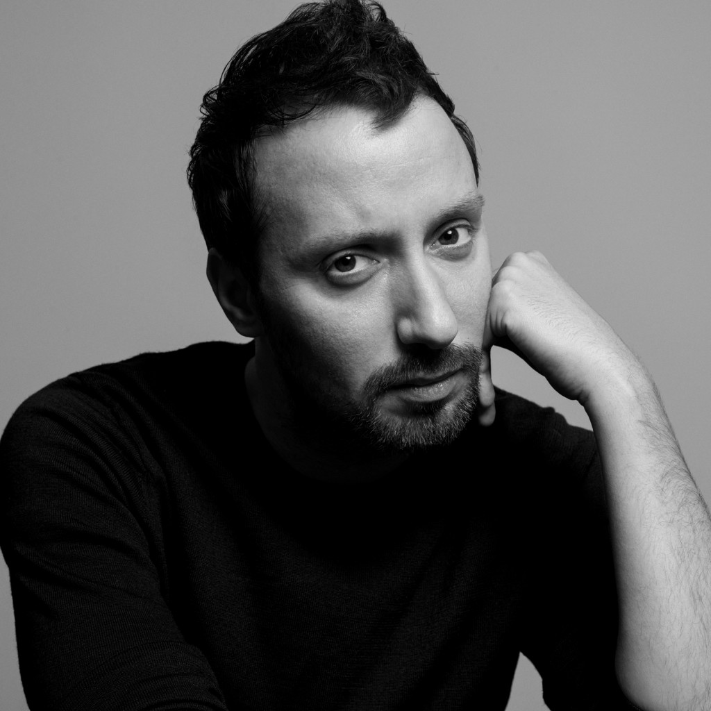 Anthony Vaccarello. portrait by inez and vinoodh.