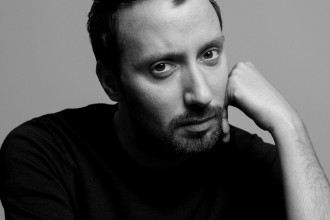Anthony Vaccarello - portrait by inez and vinoodh