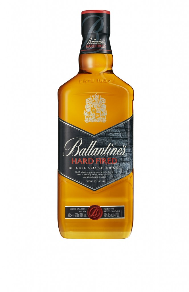 BOUTEILLE BALLANTINE'S HARD FIRED