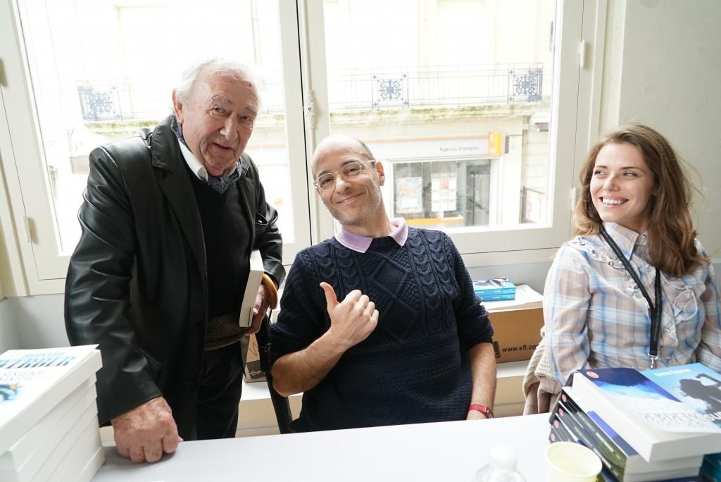 Bernard Werber et Emma Daumas