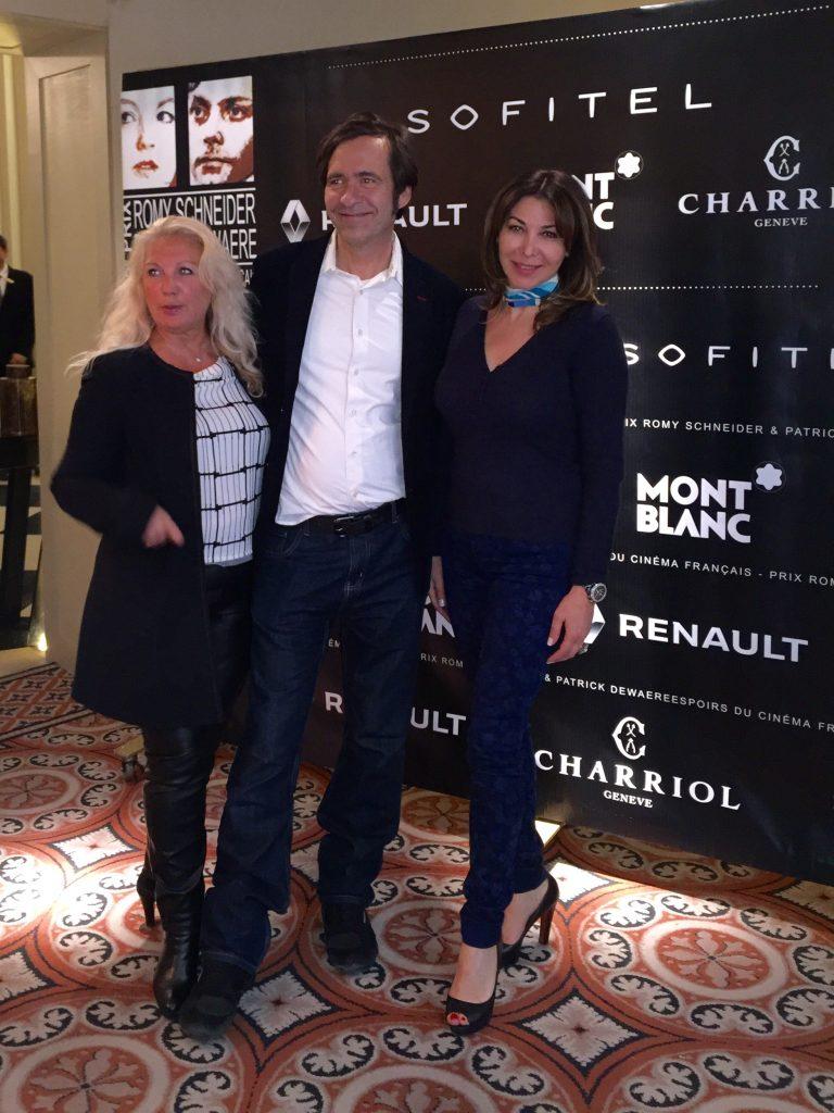 Eva Benhamou Haziza, Directrice de la publication Firstluxe Signature et Thierry Samitier ( Nos chers voisins/ TF1)