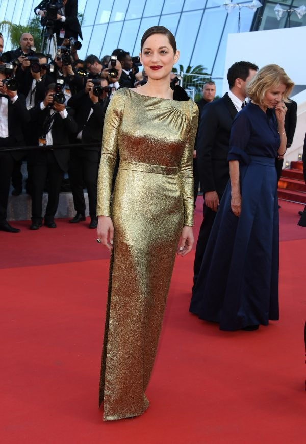 "CANNES, FRANCE - MAY 15:  Actress Marion Cotillard attends the screening of ""From The Land Of The Moon (Mal De Pierres)""  at the annual 69th Cannes Film Festival at Palais des Festivals on May 15, 2016 in Cannes, France.  (Photo by George Pimentel/WireImage)"