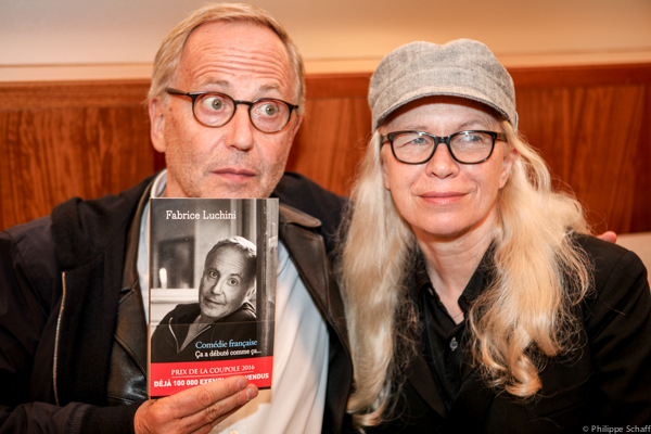 Fabrice Luchini et Dominique Issermann