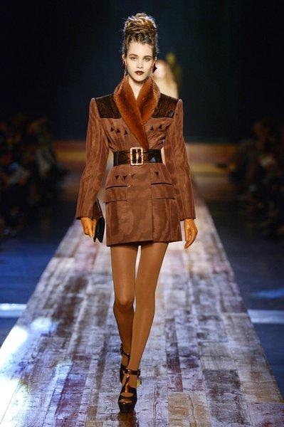 Défilé Jean Paul Gaultier Haute Couture A-H 2016/17 inspiré de la Nature