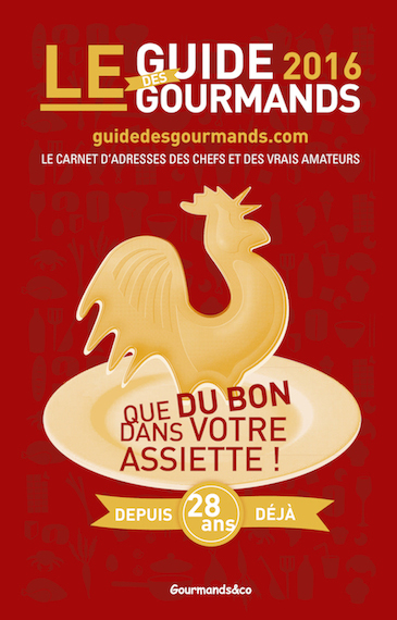 Couv Guide des Gourmands 2016