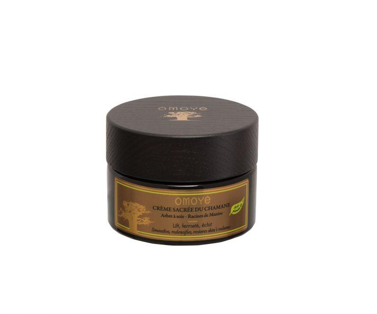 4-Visuel Crème Sacrée du Chamane fond blanc