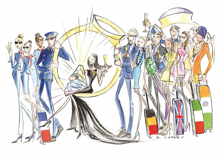 Ouahnoun Presse - Mes Créateurs Joailliers 2016 illustration - Copie