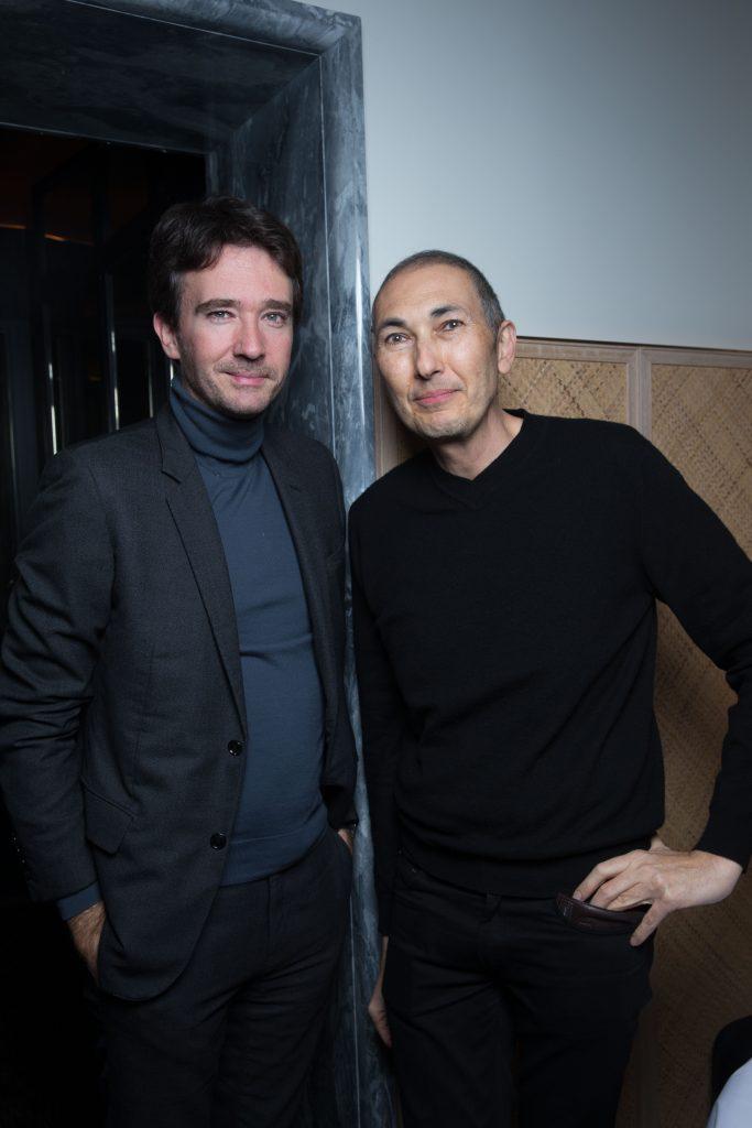 Antoine Arnault et Jorge Garcia au Printemps © david atlan