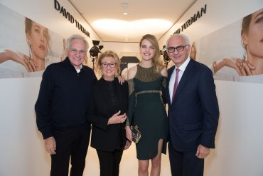 David YURMAN. Sybil YURMAN. Natalia VODIANOVA. Paolo de CESARE.. David Yurman .  Printemps. Restaurant le Divellec. Paris. 11/2016 © david atlan