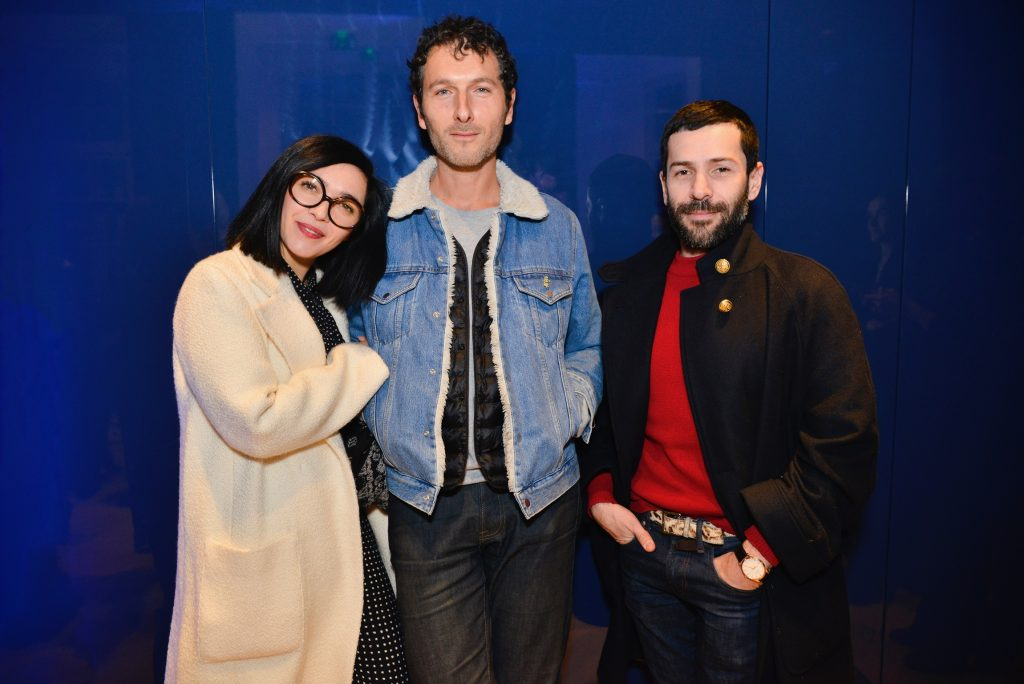 Sylvie Hoarau (Brigitte), Simon Buret (Aaron) et Alexis Mabille