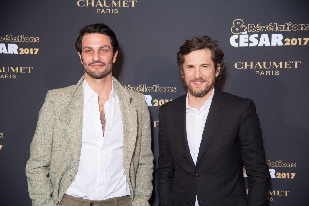 Marc Ruchmann et Guillaume Canet - Soiree des Revelations dans les Salons Chaumet