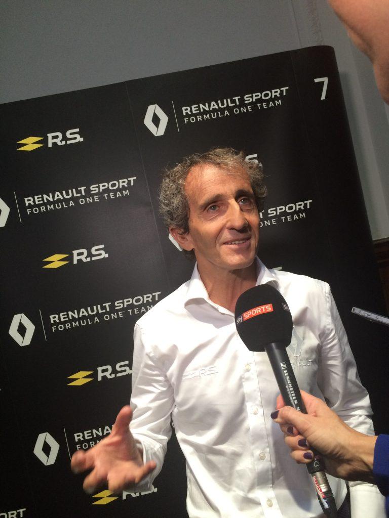 Alain Prost nommé conseiller spécial de Renault Sport Racing