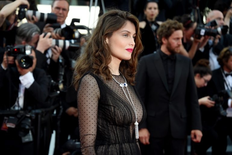 CANNES, FRANCE - MAY 23:  Actor Laetitia Casta attends the 70th Anniversary of the 70th annual Cannes Film Festival at Palais des Festivals on May 23, 2017 in Cannes, France.  (Photo by Stephane Cardinale - Corbis/Corbis via Getty Images)