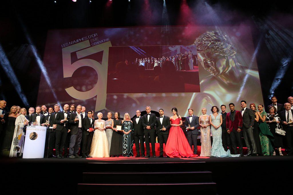 Tous les lauréats des Nymphes d'Or