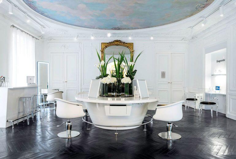 Le salon cocoon de coiffure de myriam k firstluxe - Salon de coiffure de luxe ...