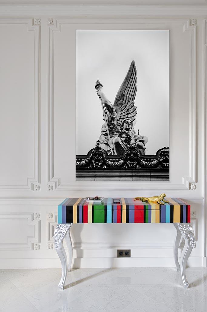 benny benlolo l 39 architecte designer qui sublime l 39 haussmannien parisien firstluxe. Black Bedroom Furniture Sets. Home Design Ideas