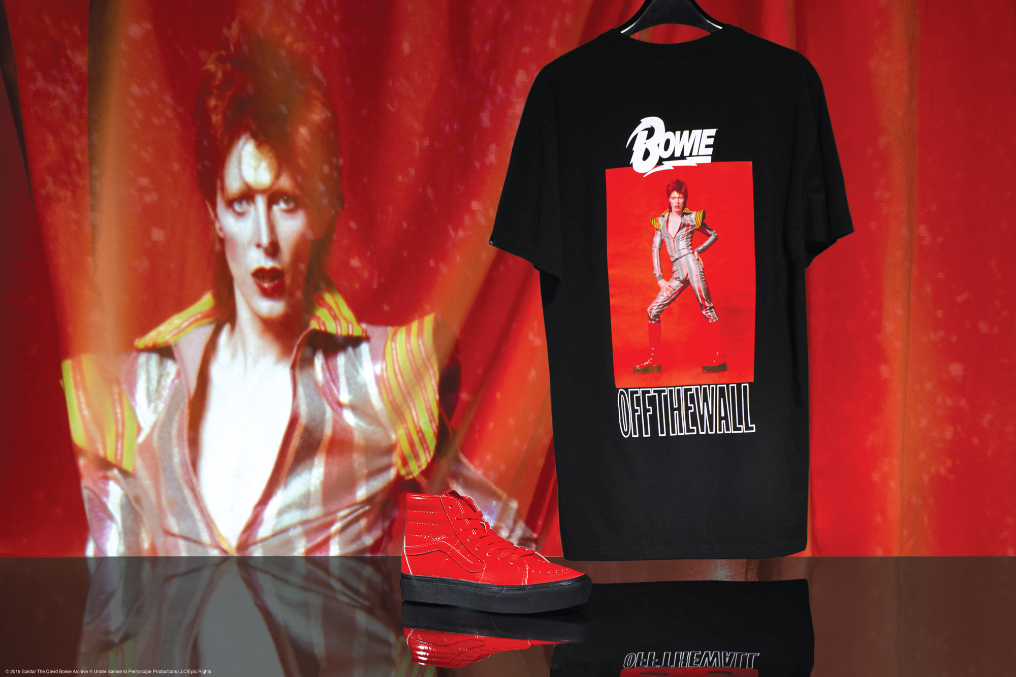 Vans « Off the Wall » : Collection hommage à David Bowie