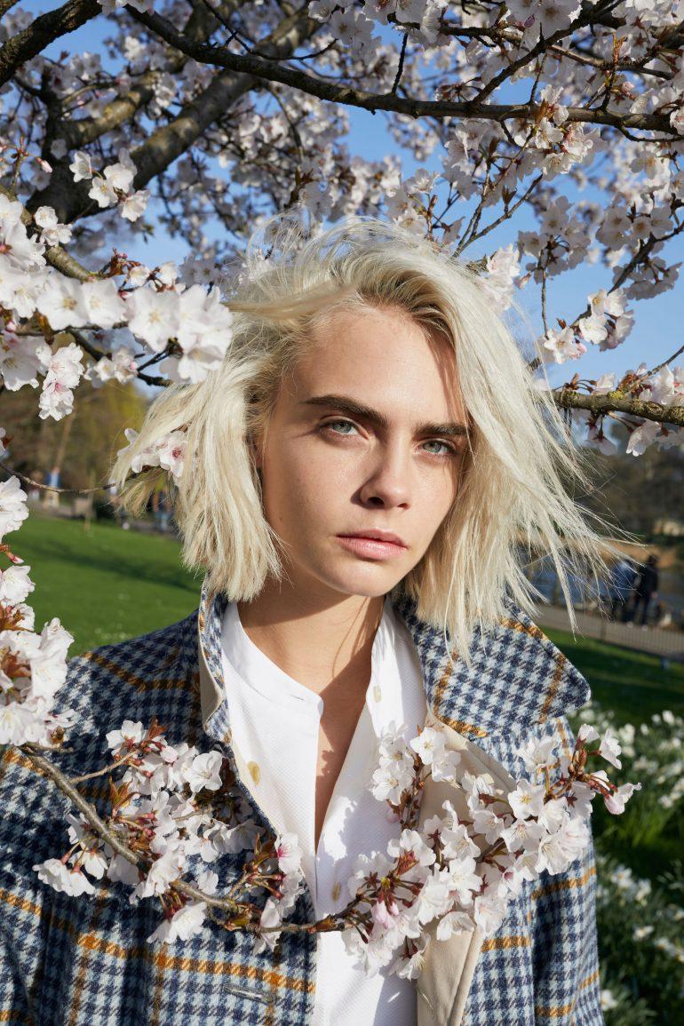 Cara Delevingne égérie Dher Blossom Inspirée De Londres En Fleurs