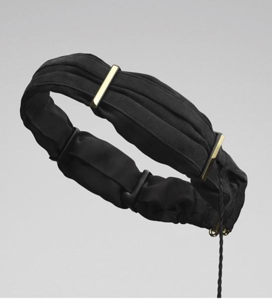 Molami: TWINE Silk Black & Gold