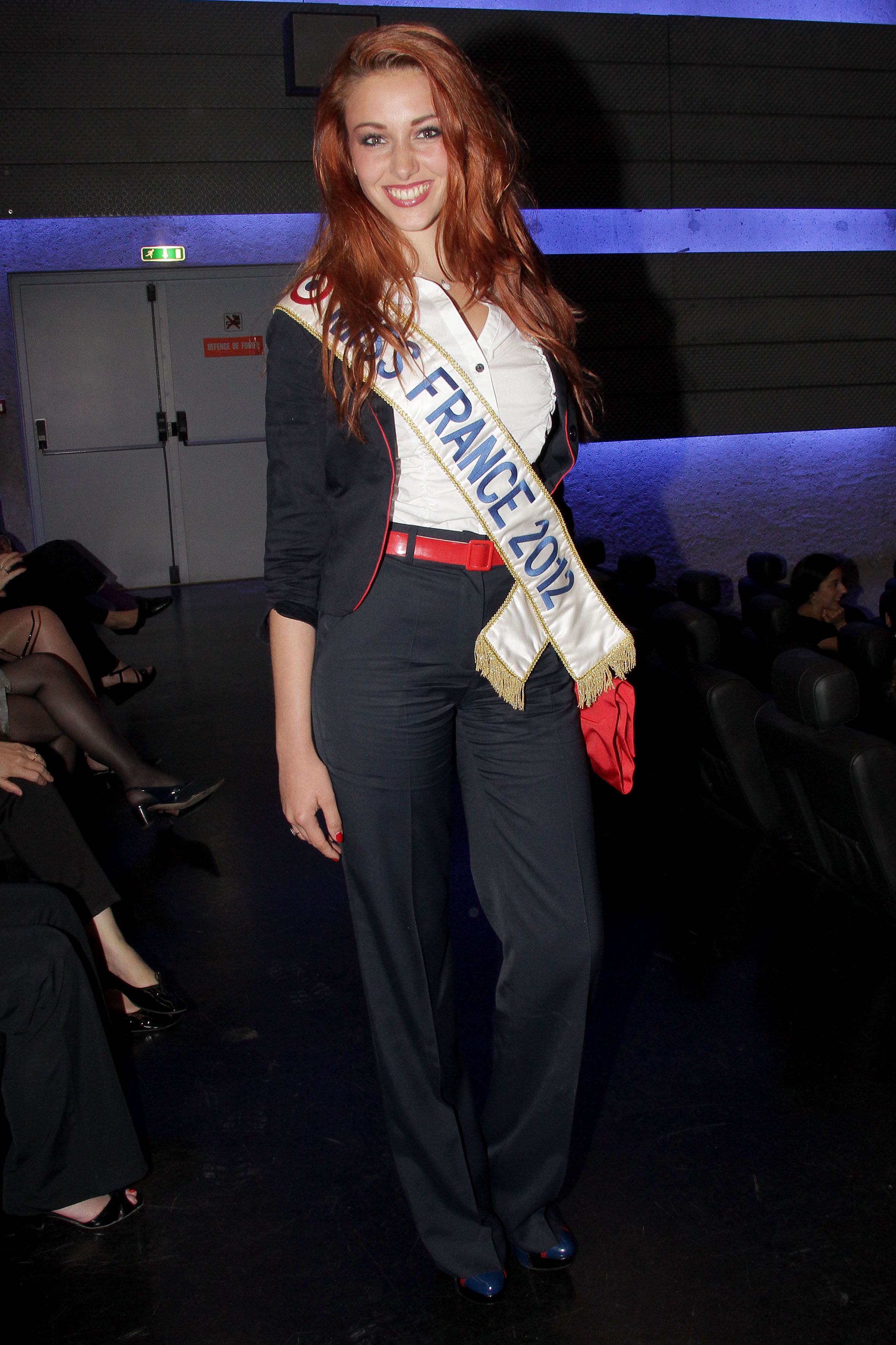 Delphine Wespiser, Miss France 2012 © Falour