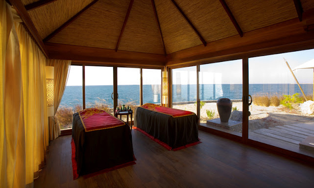Beach Club Spa Hôtel Banyan Tree Al Wadi