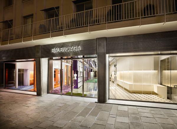 Façade Balenciaga rue Saint-Honoré