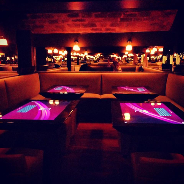 Bar tactile Touch'In Paris