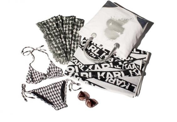 Pop up store Karl Lagerfeld à Saint-Tropez