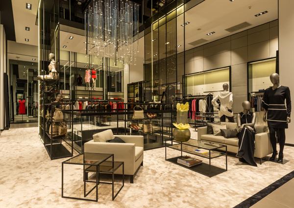 Hugo Boss nouveau concept store